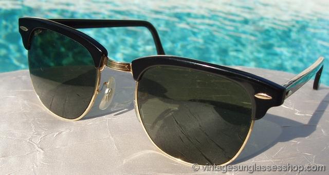 عینک ری بن کلاپ مستر شیشه سبز