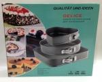 خرید پستی  قالب کمربندی 3 تایی کیک طرح مختلف