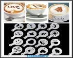 خرید پستی   شابلون طراحی قهوه