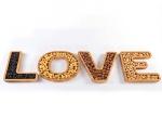 خرید پستی  اردو خوری چوبی بامبو LOVE