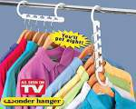 خرید پستی  رخت آویز شگفت انگیز وندر هنگر 2عدد wonder Hanger