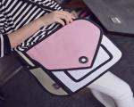 خرید پستی  کیف دستی طرح دو بعدی کد 7