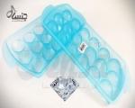 خرید پستی  قالب یخ طرح الماس2عددی